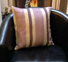 Pink And Purple Stripes And Polka Dots On Reverse Evans Lichfield Cushion Cover