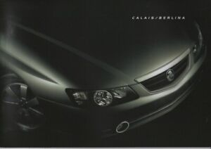 Holden Calais VY Commodore Berlina with HSV Senator brochure