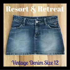 Denim Roxy  Skirt, Preloved, Size 12, Great Condition