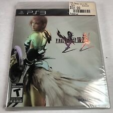 Final Fantasy XIII-2 (Sony PlayStation 3, 2012) PS3 Black Label New Sealed