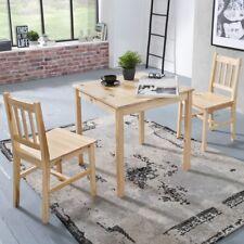 Esszimmerset EMIL Tischgruppe Holz Essgruppe Esszimmer Esstischset 2 Personen