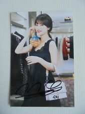 Suzy Bae Miss A 4x6 Photo Korean Actress KPOP autograph signed USA Seller 37