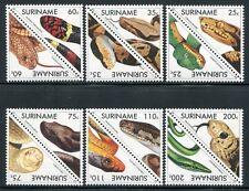 SURINAM 1991 Schlangen Snakes Reptilien Reptiles 1379-1390 ** MNH