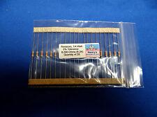 Resistors, carbon film, 1/4 watt, 5%, axial leaded, 8200 Ohm (8.2K) - QTY of 20