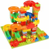 168pcs Marble Run Set Puzzle Maze Race Track Game Toy Building Block Track Toy
