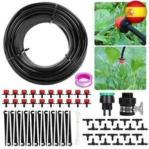 Sistema de riego de jardín, Aiglam Micro Kit de riego por Goteo Riego