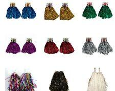 Cheerleader Cheerleading Pompoms Metallic Dance Pom Poms Wholesaler Price
