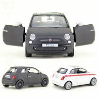 Fiat 500 1/30 Metall Die Cast Modellauto Auto Spielzeug Model Sammlung Pull Back