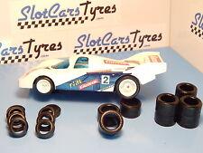 Carrera Profi protos 8 pneus ar + 8 av  URETHANE