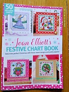 Joan Elliott's Festive chart book. 50 exclusive Christmas charts.