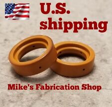 Two Swirl Rings For Use With HTP MICROCUT plasma cutter 300,301,380,400,625-45