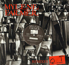 """MYLENE FARMER """"Q.I"""" REMIXES MAXI 33 T"""