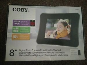 """Coby DP-850 8"""" Digital Picture Frame"""