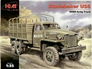 ICM 1:35 scale model kit - Studebaker US6, WWII Army Truck  ICM35511