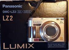 macchina fotografica Panasonic Lumix DMC-LZ2 Silver con stabilizzatore ottico