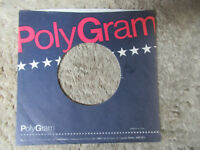 sleeve only POLYGRAM PURPLE   45 record company sleeve only 45
