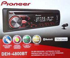 Pioneer DEH-4800BT CD-Tuner mit RDS , Bluetooth,USB,MP3,AUX,1DIn -Gerät