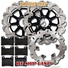 Yamaha F+R Brake Rotor + Pads FZR 600 (90-99) YZF 600 R (95-96) TDM 850 (91-01)