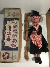 Vintage Pelham Puppets Witch Within Early Box