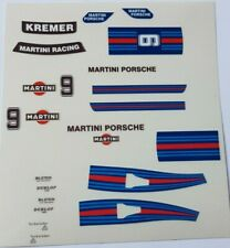 Adhesivo Porsche 935 Martini nº9, Exin Scalextric Triang Ninco Avant Slot
