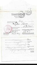 Germany-French P.O.W. writes home in 1943-From Stammlager 13A (# 1760)