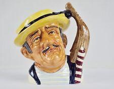 """Toby Character Jug (Small) ~""""Gondolier"""" ~ Royal Doulton D6592, #9120840"""