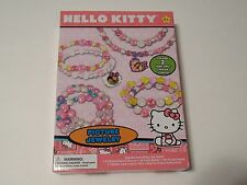 Hello Kitty Childs Picture Jewelry Bead And Charm Craft Fun Birthday Gift Kit