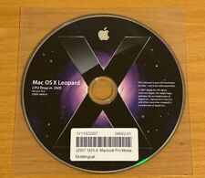 Apple Mac OS X 10.5 Leopard Drop-In DVD 2007