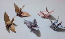 200 Origami Cranes Handcraft Paper Bird Miniature Gift Lucky Bus Tickets Collect