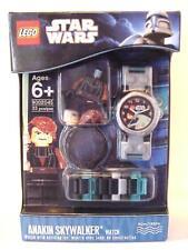 Star Wars Lego Buildable Wrist Watch Set ANAKIN SKYWALKER Minifigure C-10 Mint