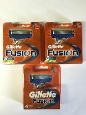 4 Gillette Fusion Rasierklingen - 4er Blister.