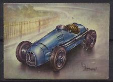 Gordini GP 2500 Racing Car 1954 Vintage 1950s Dutch Trading Card No.177