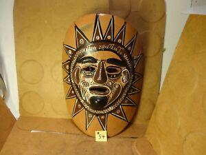 "Ixtapa Zihuatane Jo Pottery Mask, 6 1/2"" X 8 3/4"" (Used)"