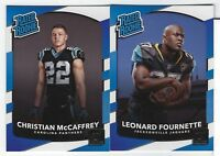 2017 Panini Donruss Football RATED ROOKIES #301-350 You Pick COMPLETE YOUR SET
