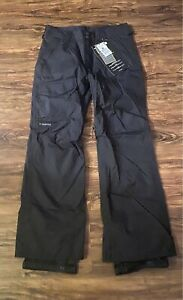 Burton TWC Throttle Black Snowboard Ski Snow Pants Mens Small NWT New