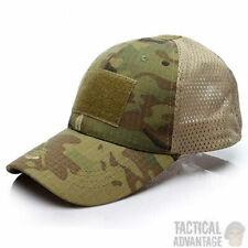 Multicam Mesh Back Baseball Cap Operators Hat Airsoft Army Camo Camouflage UK