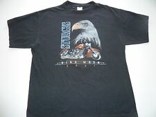 Unisex Sturgis 2001 Bike Week Tee Shirt size XL Black