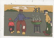 Dutch Children Netherlands Vintage U/B Postcard 025b