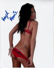 KAYLA MARIE hand-signed HOT SEXY SULTRY BRA & PANTIES 8x10 uacc rd coa IN-PERSON