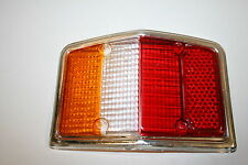 Treser Rückleuchten-Glas RECHTS Chromrahmen passend Ford Taunus GXL