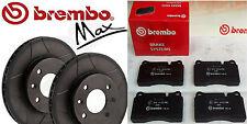 Brembo Max 2x Bremsscheiben 321mm+Beläge -VA - AUDI A6 (4B, C5),Allroad(4BH,C5)