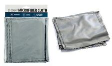 25Pc Soft Eye Glasses or Jewelry Cleaning MicroFiber Polishing Cloths Small Rags