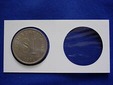 PCCB Coin Holder 37mm 50pcs/box - For 1 Ringgit Commemorative Coins