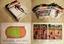 Opera Completa - Lotto 24 Fascicoli - CONOSCERE L'ATLETICA - 1983 - Ed. RIZZOLI