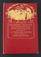 The Sleeping Beauty & Other Fairy Tales Edmund Dulac tipped color plates