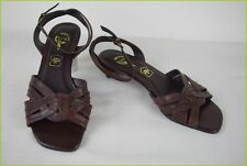 Sandals BATA Brown Leather T 36 TOP CONDITION