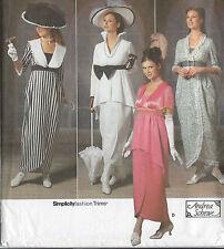 1900s Edwardian Vintage Sewing Pattern DRESS B30 1/2-31 1/2-32 1/2-34 (1141)