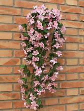 Blumenranke Künstliche Blumen Kunstpflanzen Kunstblumen Violett Girlande Deko DE