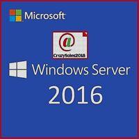2Windows Server 2016 RDS Remote Desktop Services 50 USER CAL LICENSE@+@+