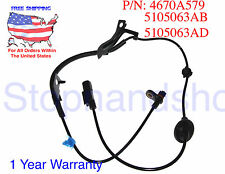 ABS Wheel Speed Sensor for Mitsubishi Lancer Outlander Jeep Rear Driver Left
